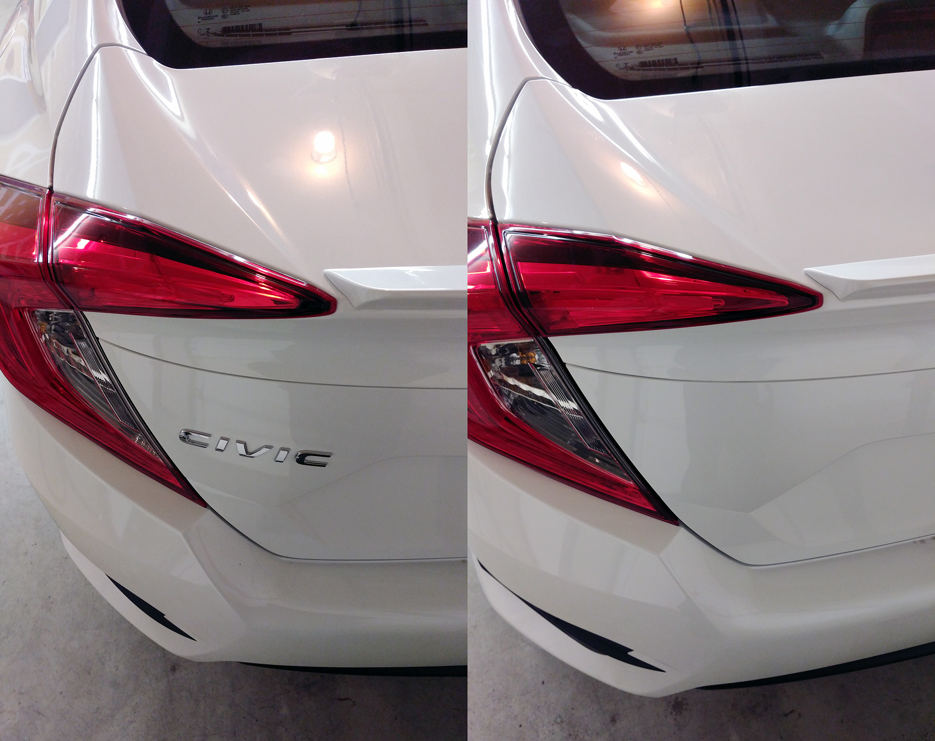 Debadging Removing The Model Emblem From My 2017 Honda Civic The