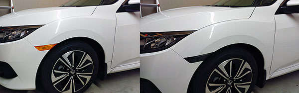 2017 Honda Civic side marker changed to smoked or clear