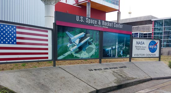 NASA US Space and Rocket Center in Huntsville, AL