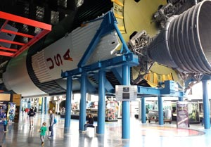 Saturn V rocket at US Space and Rocket Center