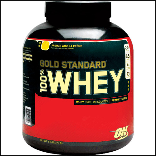 Optimum Nutrition - 100% Whey Gold Standard - French Vanilla Creme