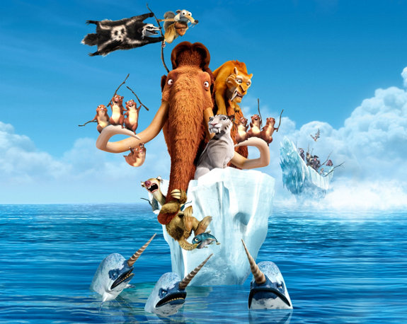 Ice Age 4 - Continental Drift - crew on a boat