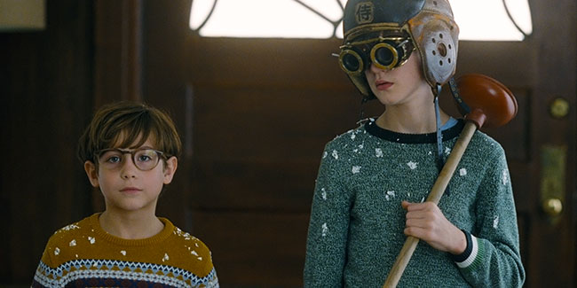 Brothers Peter and Henry Carpenter in The Book of Henry