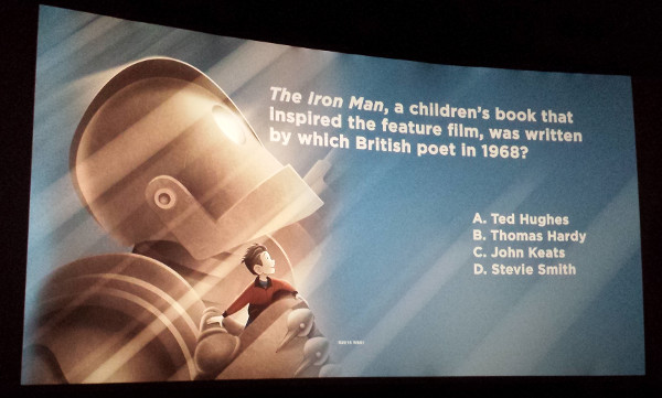 The Iron Giant Signature Edition ticket stub