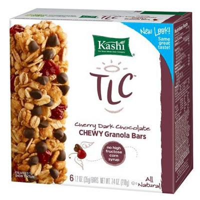 Kashi Cherry Dark Chocolate Chewy Granola Bar - box