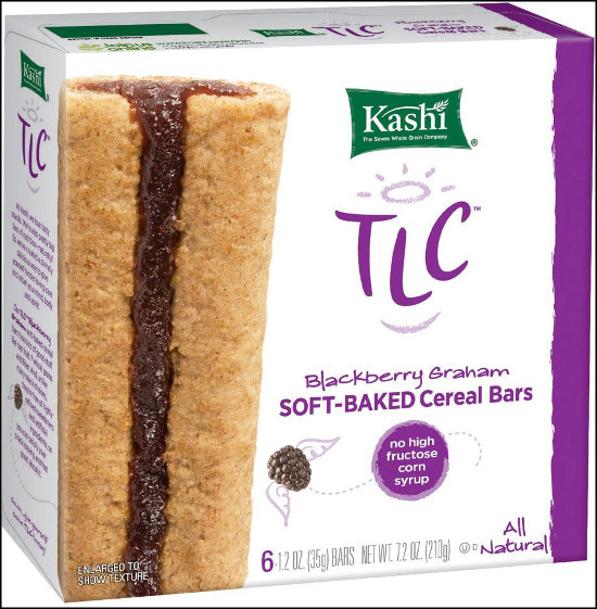 Kashi - Tasty Little Chewy soft cereal bar - blackberry graham