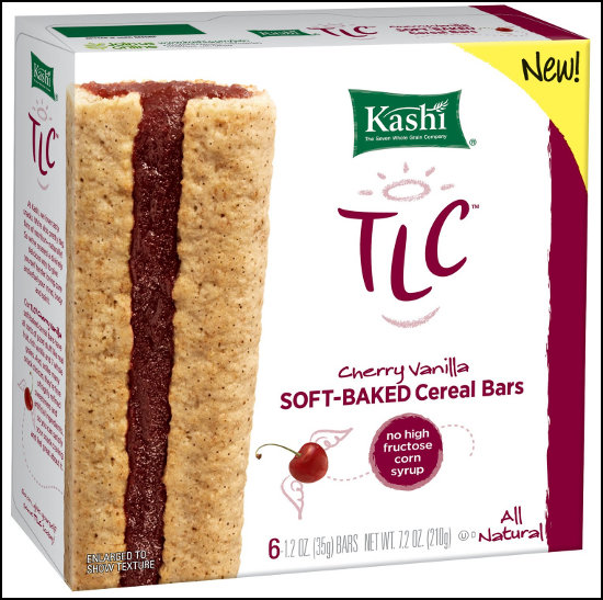 Kashi Cherry Vanilla soft cereal bar
