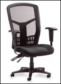 Lorell 86200 Executive Mesh-back chair