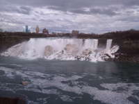 Niagara when cloudy