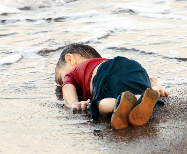 Body of drowned Syrian toddler Aylan Kurdi