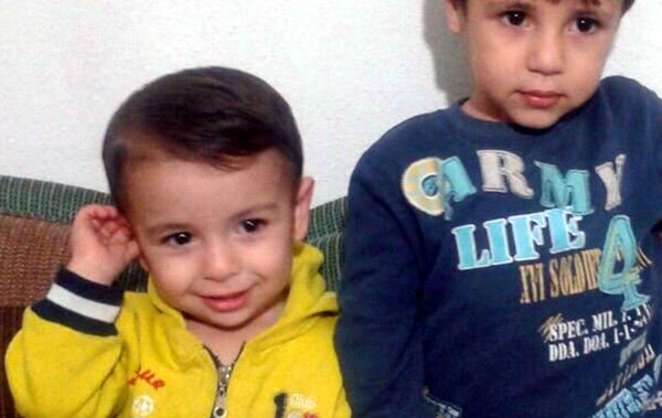 3-year-old Aylan Kurdi with his brother Galip