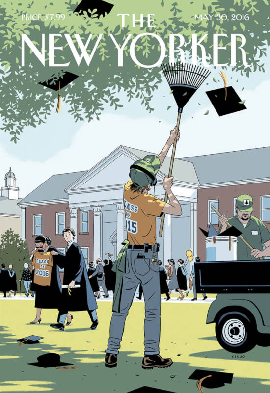 Graduating Class 2016 - The New Yorker - R. Kikuo Johnson