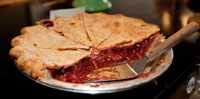 Comet Coffee Microbakery - Strawberry Rhubarb Pie