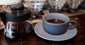 Comet Coffee pour-over brew