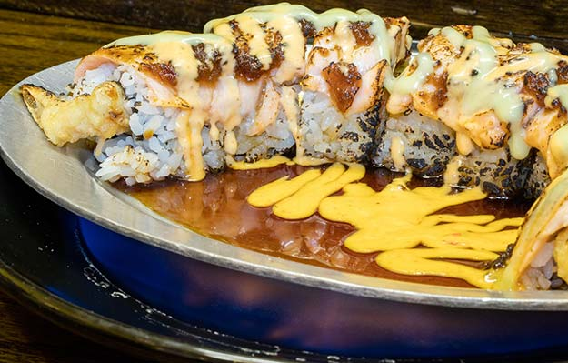VIP roll at J Sushi in St. Louis, MO