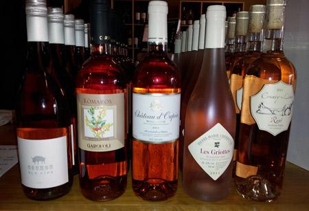 HV Bottle Shop tasting - 07 July 2012