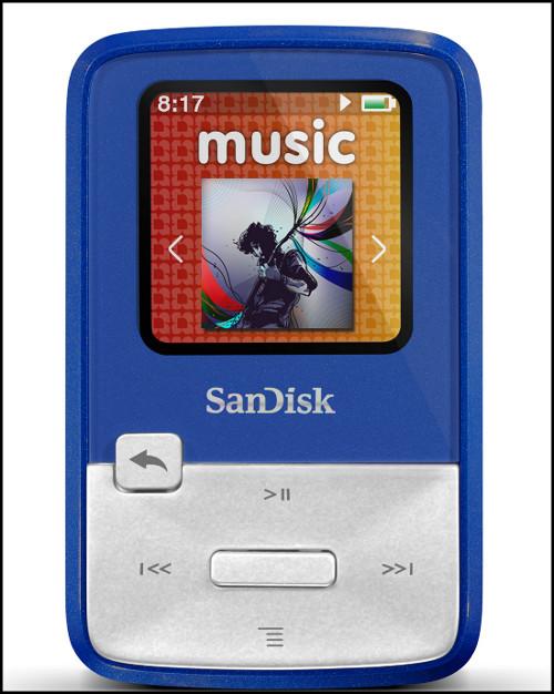 Sandisk Sansa Clip Zip - blue