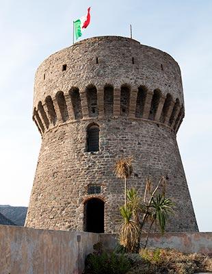 Torre del Porto on Capraia Isola