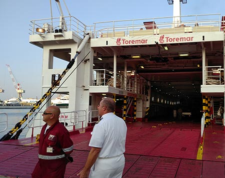 Torremar Ferry at Porto Mediceo in Livorno