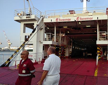 Torremar Ferry at Porto Mediceo in Livorno
