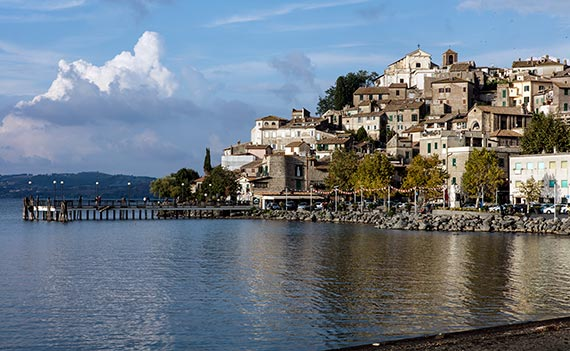Anguillara Sabazia and Lake Bracciano