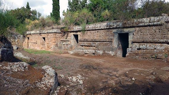 Necropolis of Banditaccia tombs