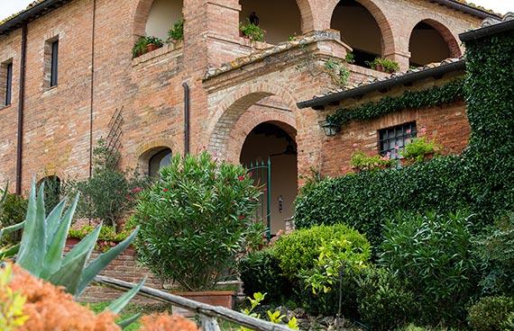 Casa Bolsinina bed and breakfast in Tuscany outside Siena