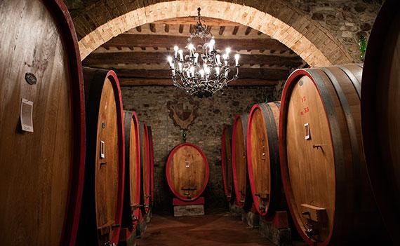 Conti Costanti cellar in Montalcino