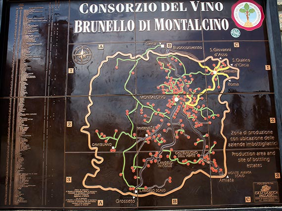 List of Brunello producers in Montalcino