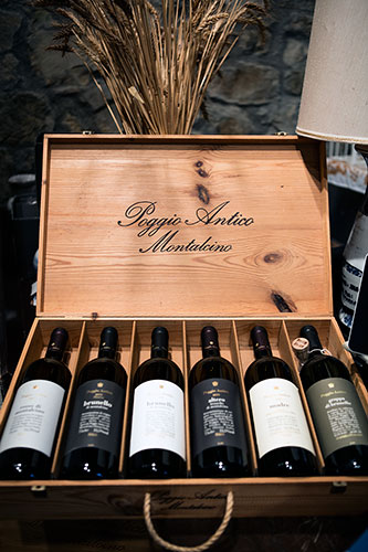 Poggio Antico case of wine - Montalcino