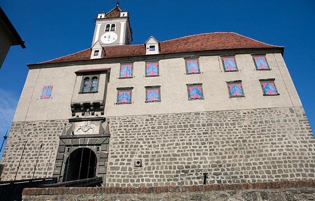 Südsteiermark - Riegersburg Castle entrance