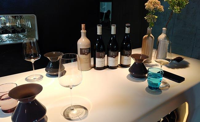 Burgenland - Weingut Heinrich - Tasting table