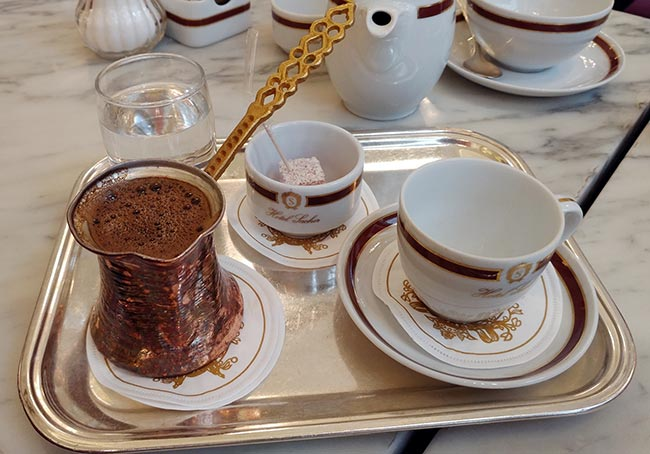 Vienna - Café Sacher - Turkish coffee