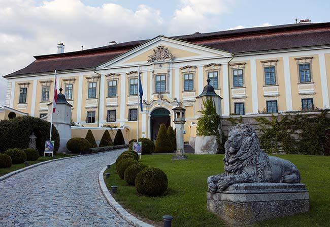 Kamptal DAC - Schloss Gobelsburg - Entrance