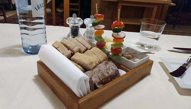 The Wachau - Kaiser von Österreich restaurant - Bread starter