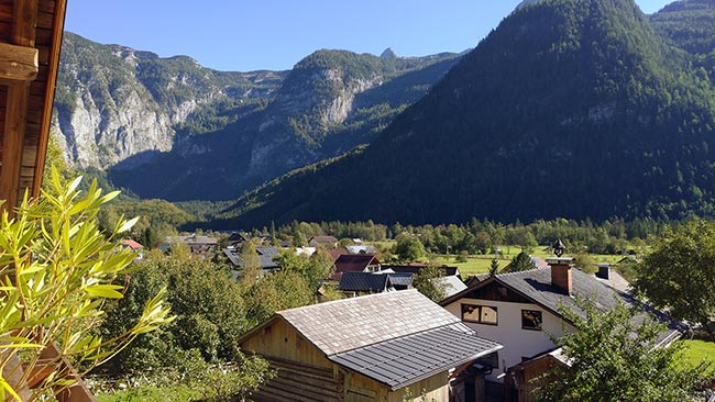 Hallstatt / Obertraun - Haus Hepi - stunning view from our balcony
