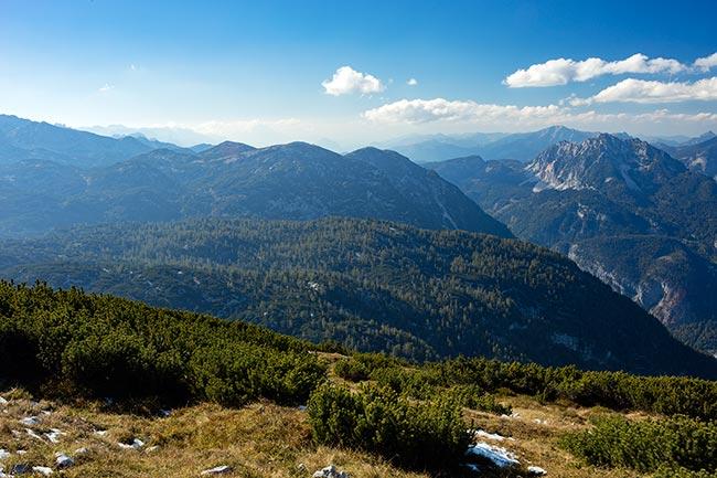 Hallstatt / Obertraun - Dachstein Krippenstein - summit facing south