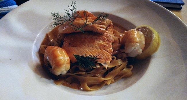 Hallstatt / Bad Ischl - Weinhaus Attwenger - Salmon fillet