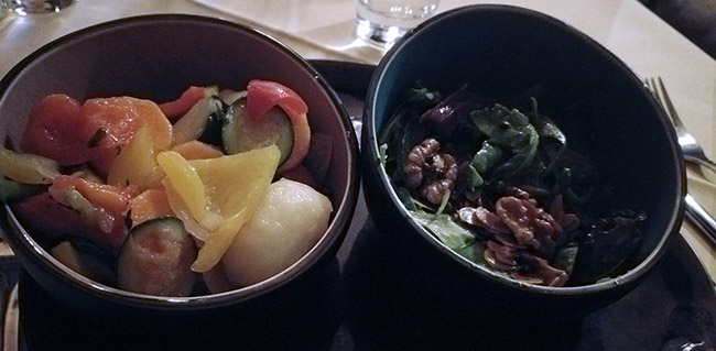 Hallstatt / Bad Ischl - Weinhaus Attwenger - Walnut salad starter