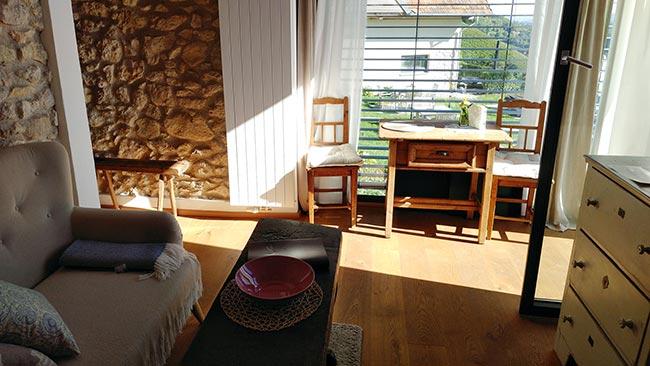 Südsteiermark - Weingut Tement's Chalet Ciringa - Living room