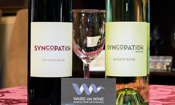 2015 Ward on Wine Syncopation Rhythmic Red and Acoustic White
